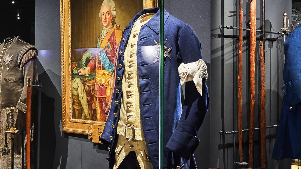 Gustav III:s uniform. Foto: Livrustkammaren