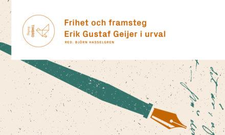 Erik Gustaf Geijer i urval