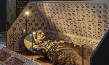 Kristi grav tillbaka i Riddarholmskyrkan