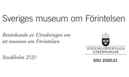 Utredning: Sverige bör bygga ett Förintelsemuseum