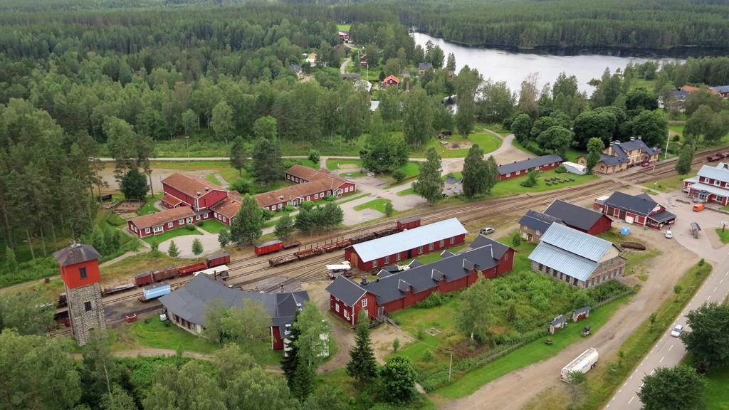 Jädraås samhälle. Foto: Ockelbo kommun