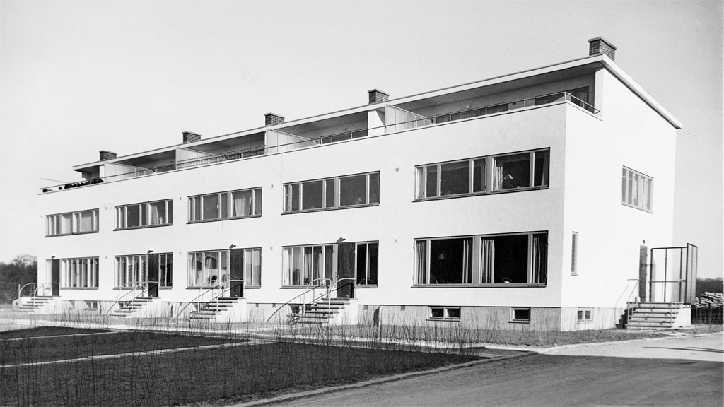 Radhus i Göteborg, ritat av Ingrid Wallberg. Foto: Fritz Bruze