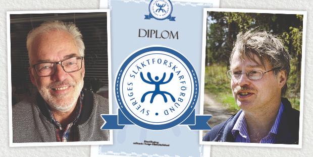 Årets eldsjäl Mats Ahlgren och Årets Örnbergspristagare Ulf Berggren.