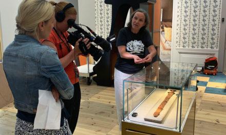 Sagas svärd på plats i Jönköpings läns museum