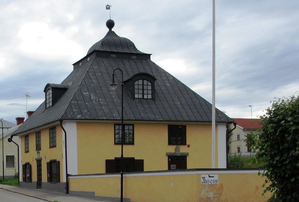 Söderhamns museum i Söderhamns gevärsfaktoris borrhus. Foto: Annika64 (Wikimedia Commons CC BY-SA 3.0)