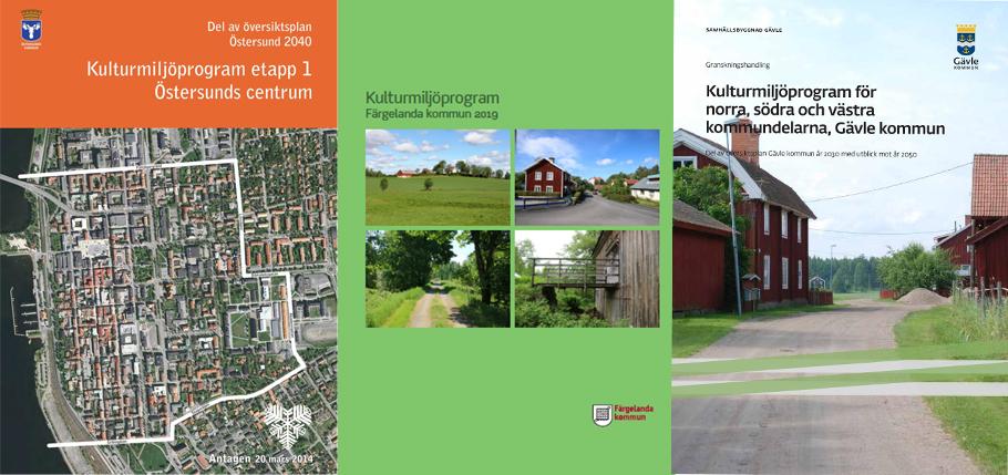 Många kommuner saknar kulturmiljöprogram