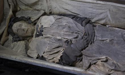 Mumifierad biskop undersöks i Lund
