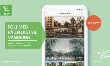 Ny app om historia i Stockholms län