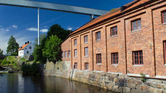 Frövifors Pappersbruksmuseum. Foto: Nicklas Tolonen