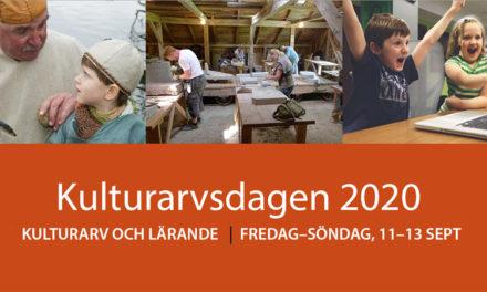 Temadagar om kulturarv och lärande