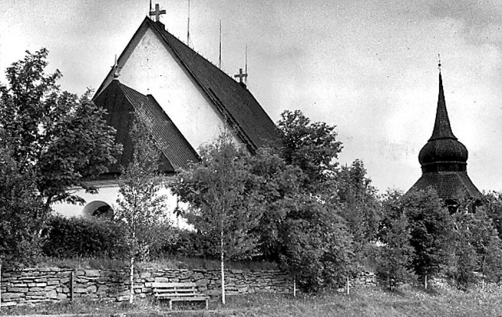 Döda patienter från det gamla mentalsjukhuset lades i en massgrav på Frösöns västra kyrkogård. Arkivbild