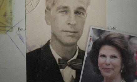 Carl-Gustaf Svingel och Silvias familj i Berlin