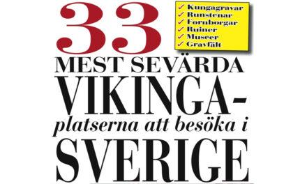 De 33 bästa vikingasevärdheterna i Sverige