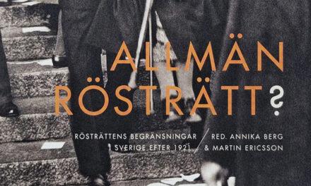 Rösträttens begränsningar i Sverige efter 1921