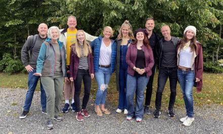 Amerikanerna i Allt för Sverige har anlänt