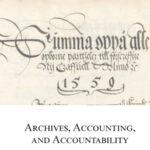 Skatteförvaltningens bokföring vid mitten av 1500-talet