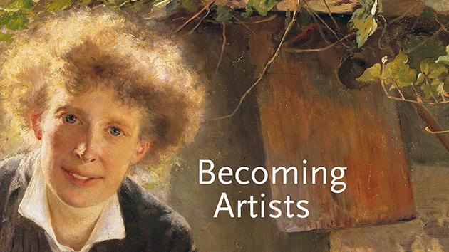 Att bli konstnär på 1880-talet