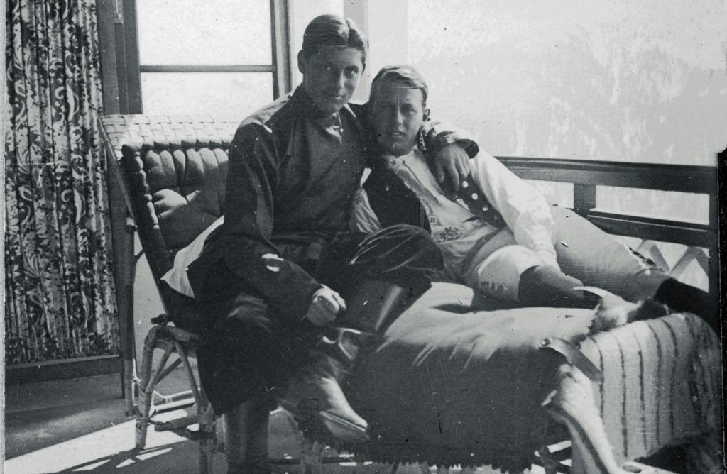 Rolf de Maré och Dmitri. Foto ur Dansmuseets samlingar