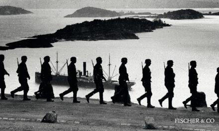 Norsk-svenska vapenbröder mot Nazi-Tyskland