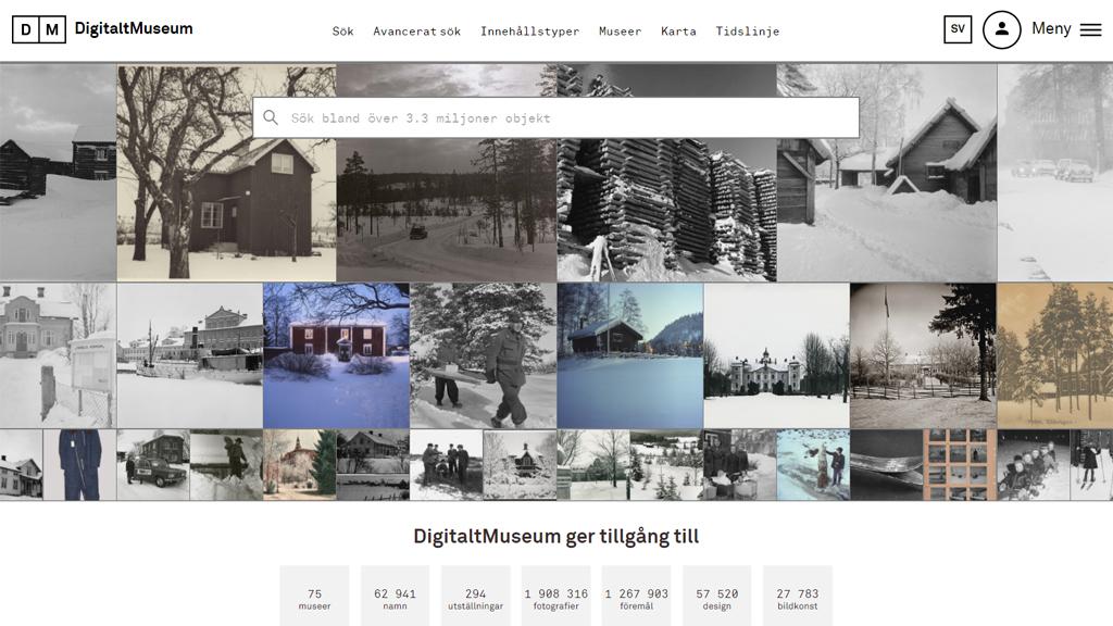 10 miljoner till digitalisering av museer och arkiv