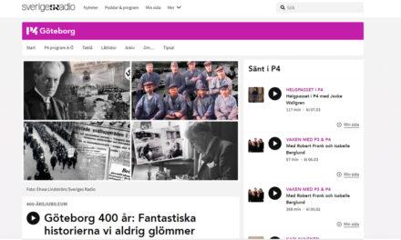 Mastodontserie i radio firar Göteborgs jubileum