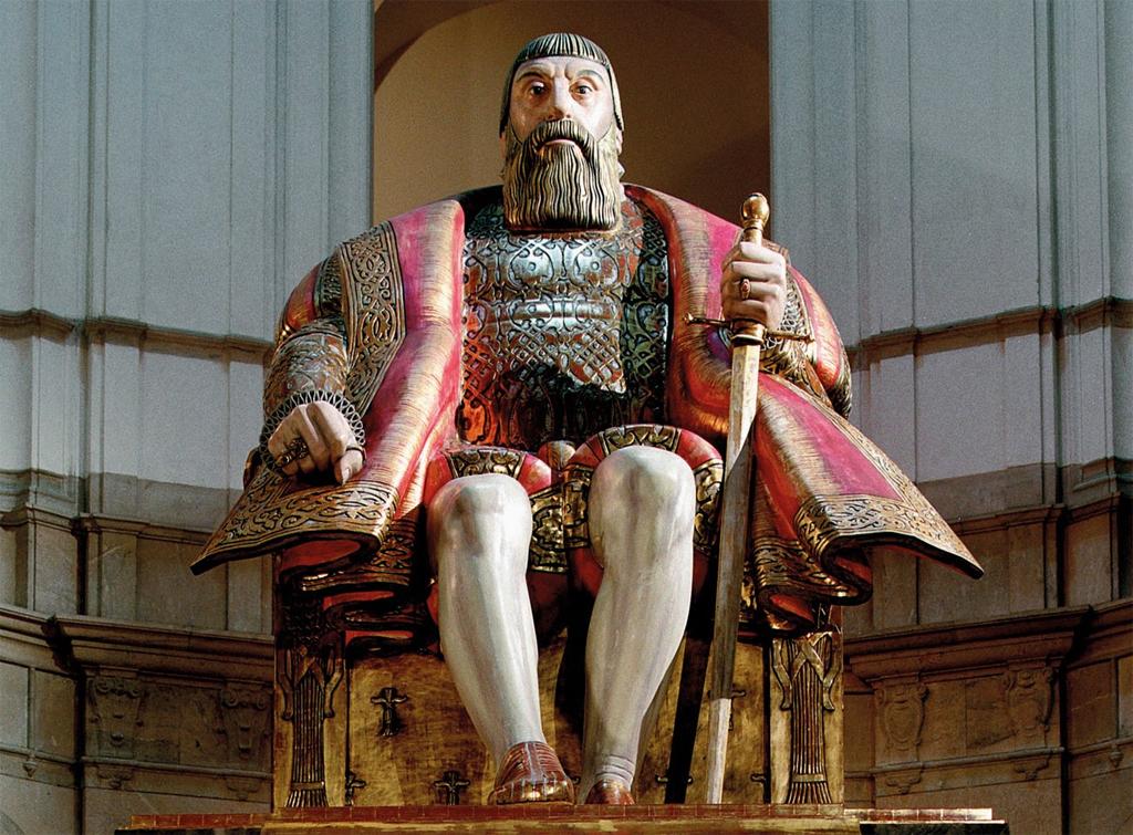 Gustav Vasa på Nordiska museet. Foto: Nordiska museet