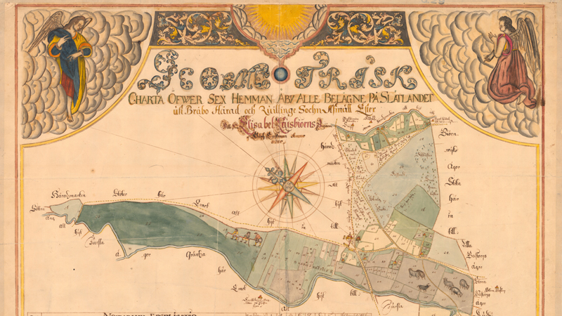 Lantmäteriet bjuder på gratis bilder från unikt kartarkiv