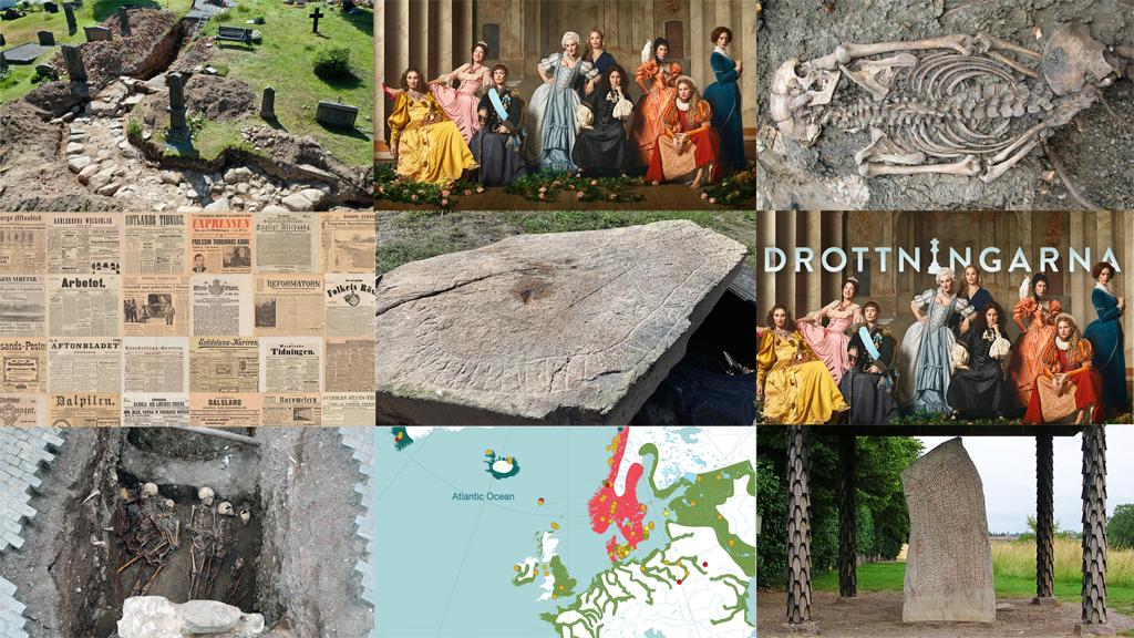 Foto: Västarvet, Karolina Henke, Sigtuna Museum, Västerviks Museum, Arkeologikonsult, Nature och Håkan Svensson