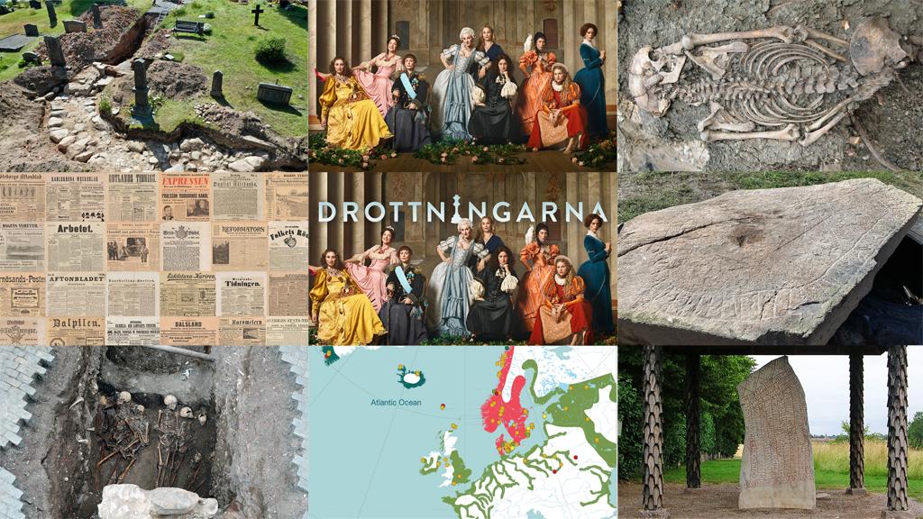 Foto: Västarvet, Karolina Henke, Sigtuna Museum, Västerviks Museum, Arkeologikonsult och Håkan Svensson.