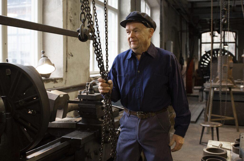 Östen Runelind, Pythagoras Industrimuseum. Foto: Cecilia Nordstrand