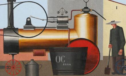 Konstnären Otto G Carlsund