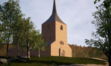 Nya utgrävningar vid Sveriges äldsta tegelbyggnad