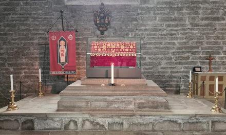 Det var inte heliga Birgittas kranium i relikskrinet