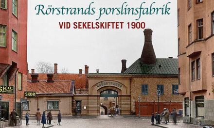 Rörstrands porslinsfabrik vid sekelskiftet 1900
