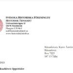 Historiska Föreningen kräver ökad tillgång till arkiven