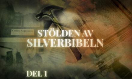 Erkänner stölden av Silverbibeln efter 26 år