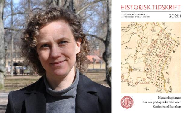 Susanna Erlandsson ny redaktör för Historisk tidskrift