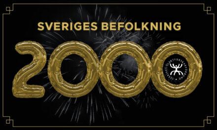 Sveriges befolkning 2000