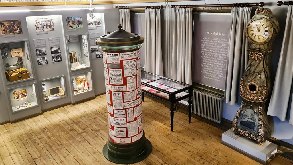 """Utställningen """"Tidsresan"""". Foto: Vänersborgs museum"""