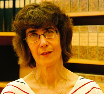 Marie-Christine Skuncke. Foto: Anki Lütz/Sörmlands museum.